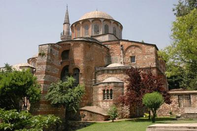 церковь хора в стамбуле
